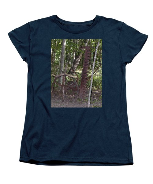 Grave Site Women's T-Shirt (Standard Cut) by Tara Lynn