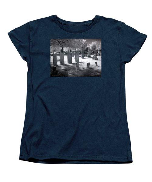 Graveyard Women's T-Shirt (Standard Cut) by Terry Reynoldson