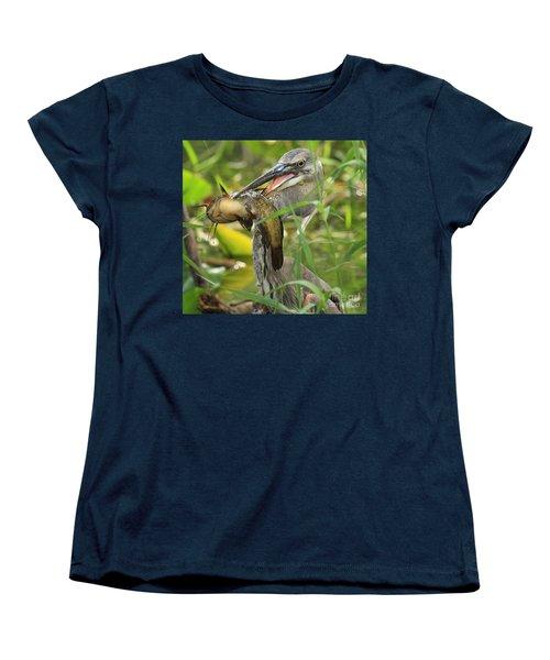 Great Blue Killer Women's T-Shirt (Standard Cut) by Adam Jewell