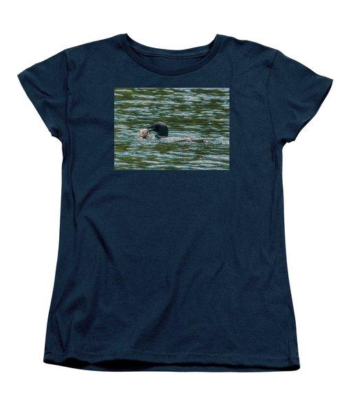 Women's T-Shirt (Standard Cut) featuring the photograph Great Catch by Brenda Jacobs