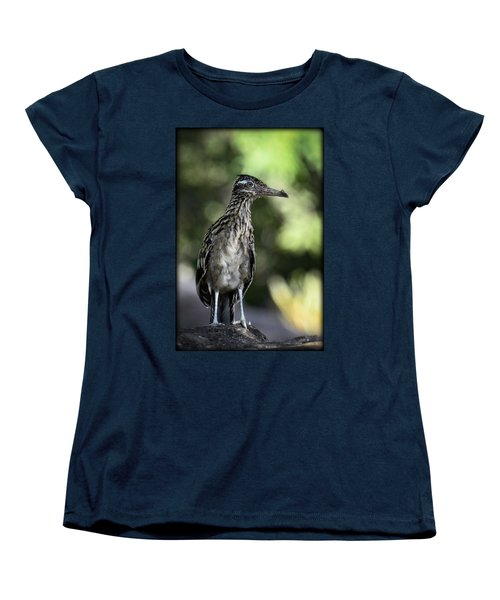 Greater Roadrunner  Women's T-Shirt (Standard Cut) by Saija  Lehtonen