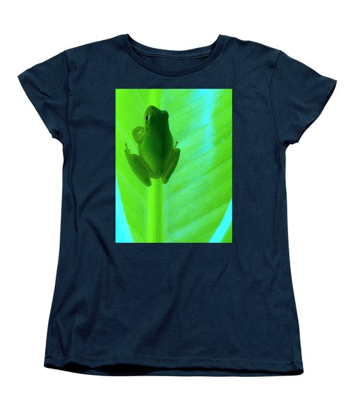 Women's T-Shirt (Standard Cut) featuring the photograph Green Day by Faith Williams
