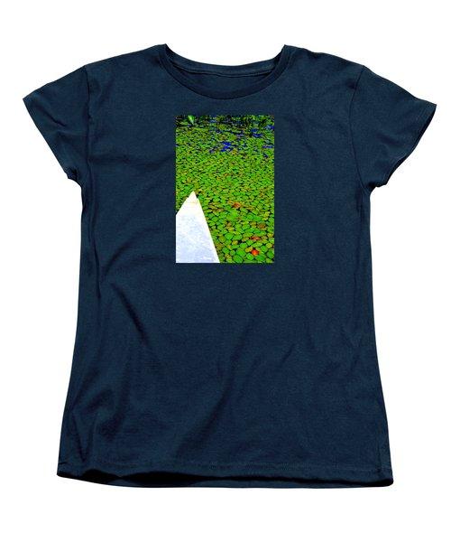 Green Dream Women's T-Shirt (Standard Cut) by Zafer Gurel