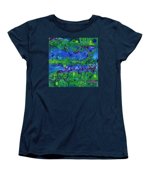 Green Functions Women's T-Shirt (Standard Cut) by Regina Valluzzi