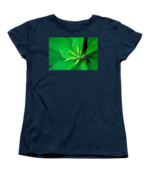 Green Women's T-Shirt (Standard Cut) by Ludwig Keck