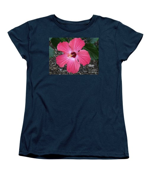 Women's T-Shirt (Standard Cut) featuring the photograph Greetings From Florida by Oksana Semenchenko