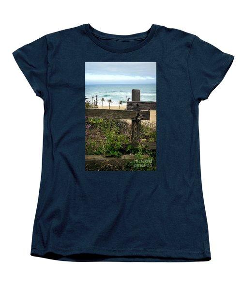 Greetings From San Francisco Women's T-Shirt (Standard Cut) by Ellen Cotton