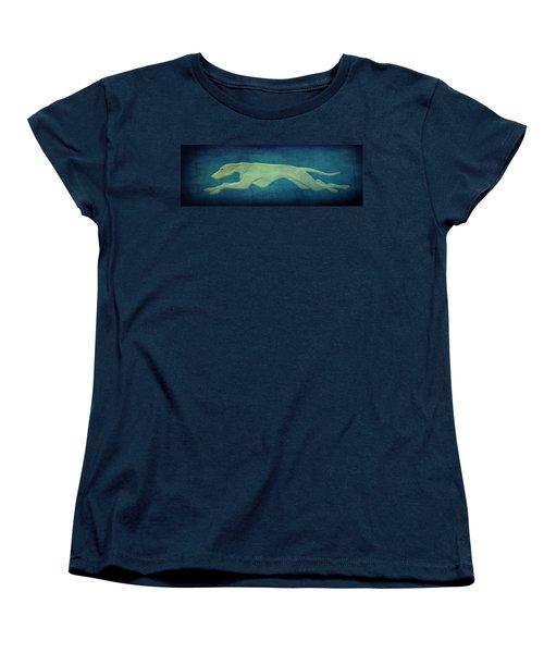 Greyhound Women's T-Shirt (Standard Cut) by Sandy Keeton