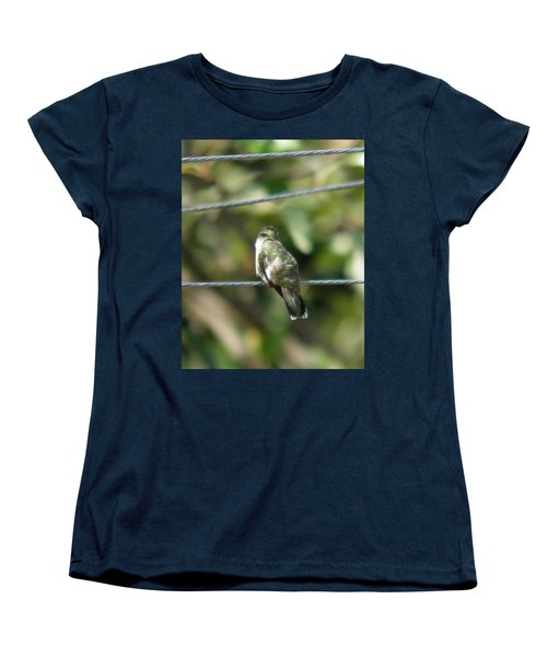 Women's T-Shirt (Standard Cut) featuring the photograph Grooming Hummer by Nick Kirby