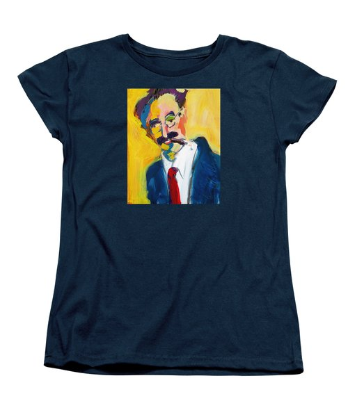 Groucho Women's T-Shirt (Standard Cut) by Les Leffingwell