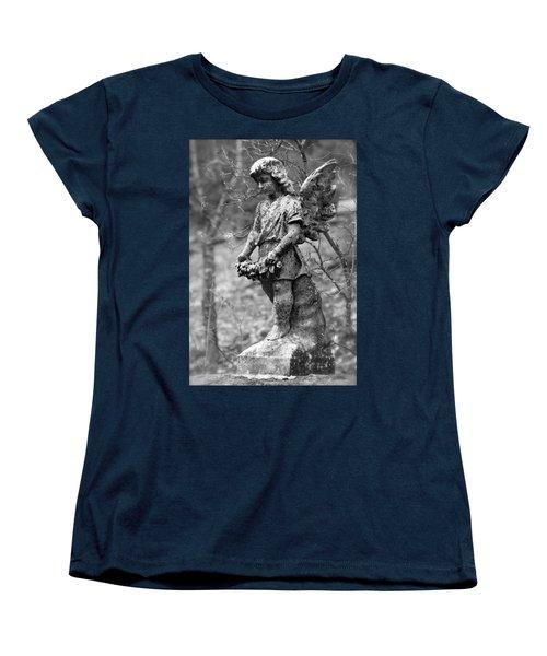 Guardian Angel  Women's T-Shirt (Standard Cut) by Karon Melillo DeVega