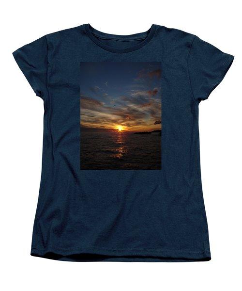 Women's T-Shirt (Standard Cut) featuring the photograph Gull Rise by Bonfire Photography