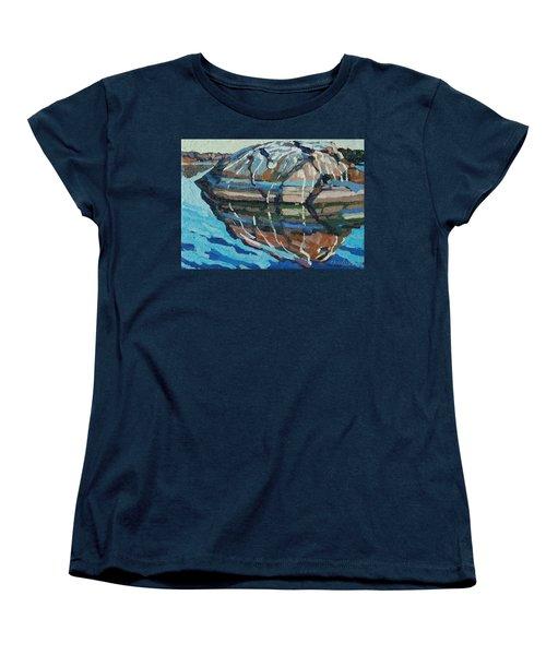 Gull Rock Women's T-Shirt (Standard Cut) by Phil Chadwick