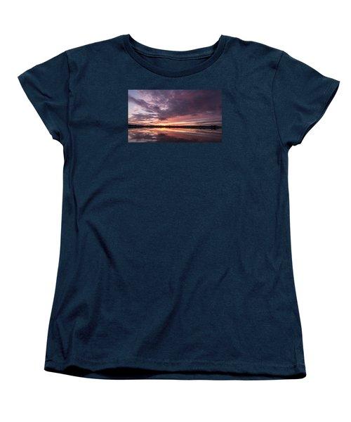 Halifax River Sunset Women's T-Shirt (Standard Cut)