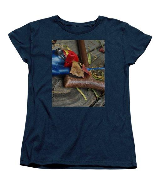 Women's T-Shirt (Standard Cut) featuring the photograph Handled With Care by Peter Piatt