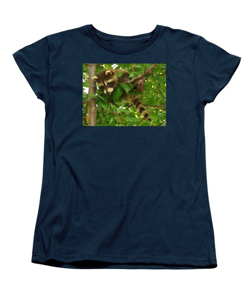 Women's T-Shirt (Standard Cut) featuring the photograph Hang In There by James Peterson