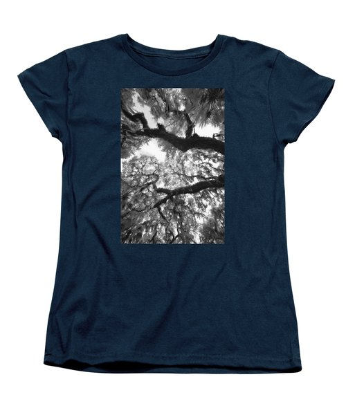 Women's T-Shirt (Standard Cut) featuring the photograph Hanging Moss by Bradley R Youngberg