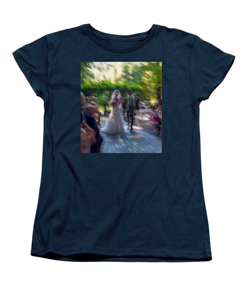 Women's T-Shirt (Standard Cut) featuring the photograph Happily Ever After by Alex Lapidus