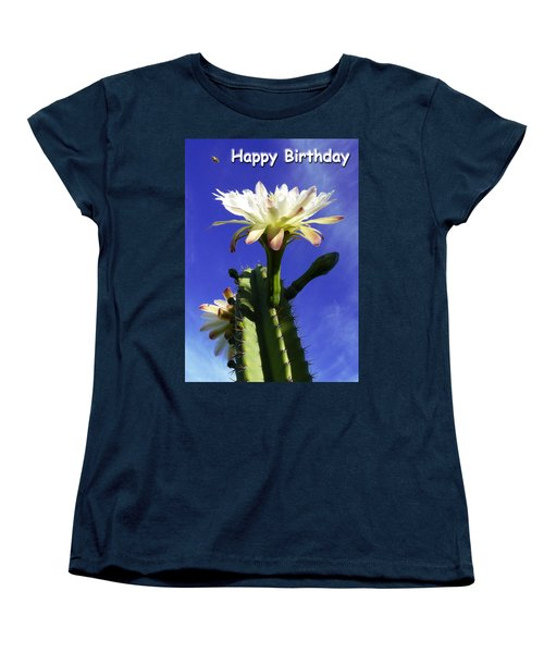 Women's T-Shirt (Standard Cut) featuring the photograph Happy Birthday Card And Print 11 by Mariusz Kula