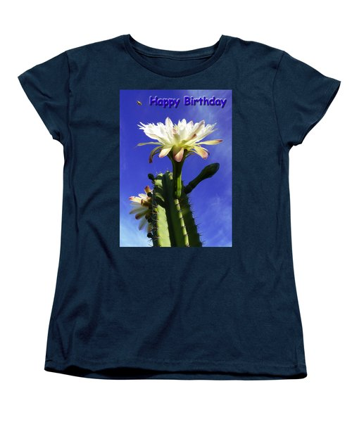 Women's T-Shirt (Standard Cut) featuring the photograph Happy Birthday Card And Print 12 by Mariusz Kula