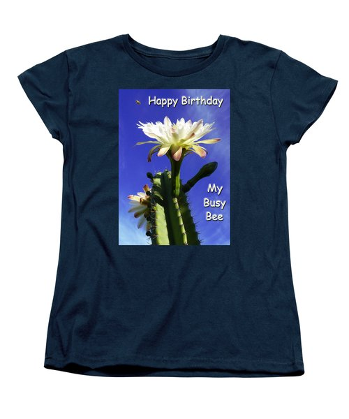 Women's T-Shirt (Standard Cut) featuring the photograph Happy Birthday Card And Print 14 by Mariusz Kula
