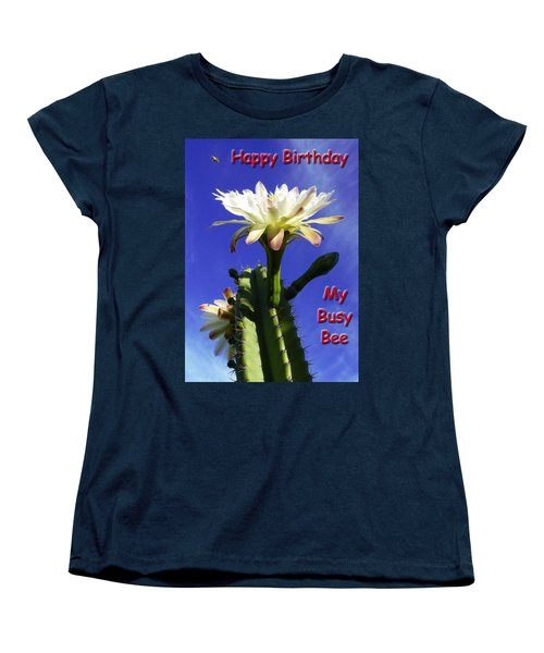 Women's T-Shirt (Standard Cut) featuring the photograph Happy Birthday Card And Print 15 by Mariusz Kula