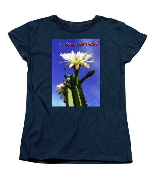 Women's T-Shirt (Standard Cut) featuring the photograph Happy Birthday Card And Print 16 by Mariusz Kula