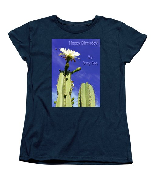 Women's T-Shirt (Standard Cut) featuring the photograph Happy Birthday Card And Print 20 by Mariusz Kula