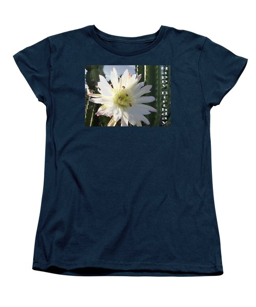Women's T-Shirt (Standard Cut) featuring the photograph Happy Birthday Card And Print 9 by Mariusz Kula