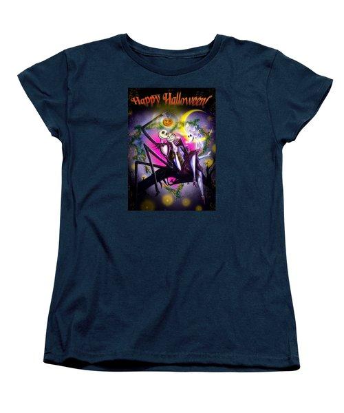 Happy Halloween II Women's T-Shirt (Standard Cut) by Alessandro Della Pietra