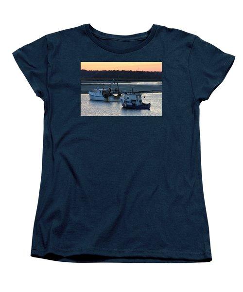 Harbor Nights Women's T-Shirt (Standard Cut) by Denyse Duhaime