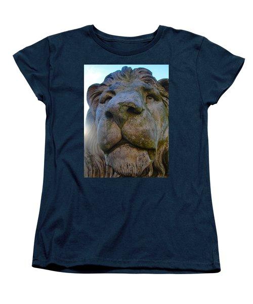Harlaxton Lions Women's T-Shirt (Standard Cut) by Tiffany Erdman