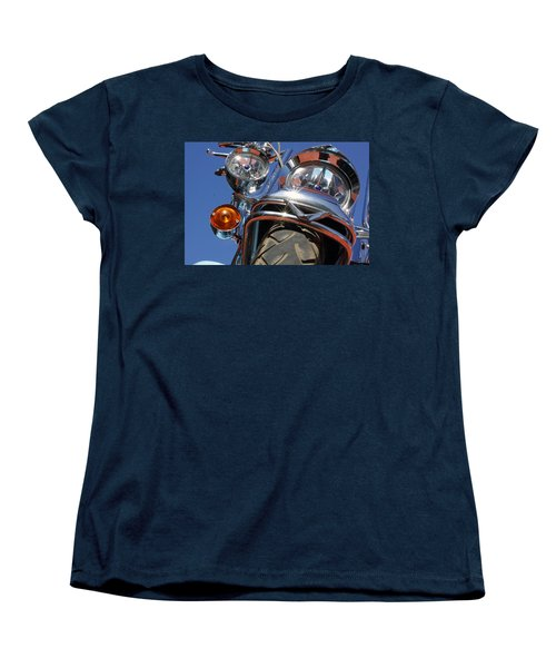 Women's T-Shirt (Standard Cut) featuring the photograph Harley Close Up by Shoal Hollingsworth