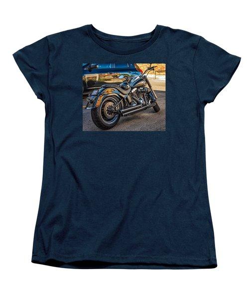 Harley Davidson Women's T-Shirt (Standard Cut) by Steve Harrington