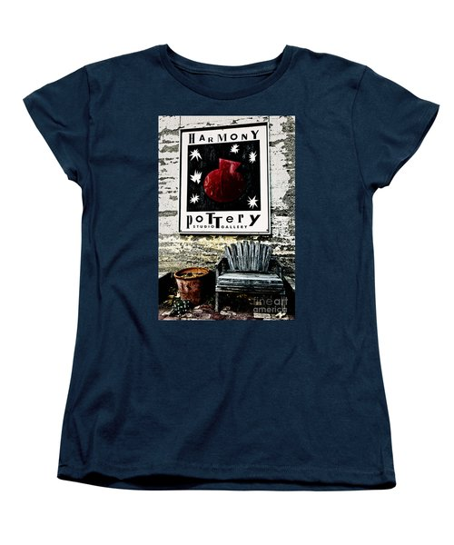 Harmony Pottery Women's T-Shirt (Standard Cut) by Terry Garvin
