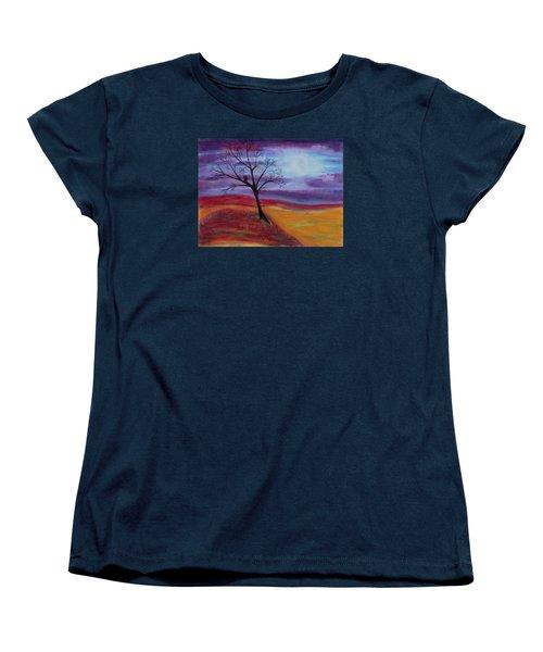 Harvest Moon 2 Women's T-Shirt (Standard Cut) by Jeanne Fischer