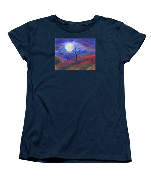 Harvest Moon 3 Women's T-Shirt (Standard Cut) by Jeanne Fischer