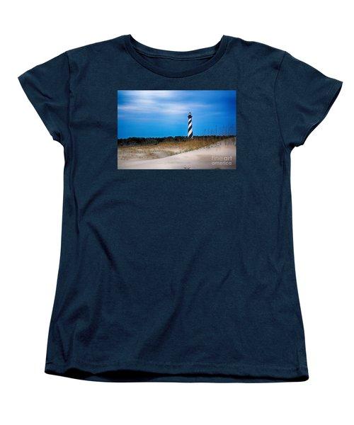 Hatteras Morning Light Women's T-Shirt (Standard Cut) by Tony Cooper