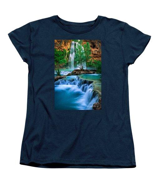 Havasu Paradise Women's T-Shirt (Standard Cut) by Inge Johnsson