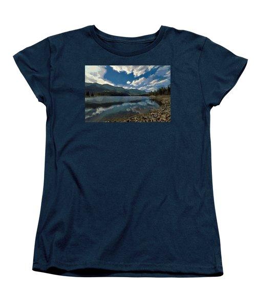 Haviland Lake Women's T-Shirt (Standard Cut) by Jeff Kolker