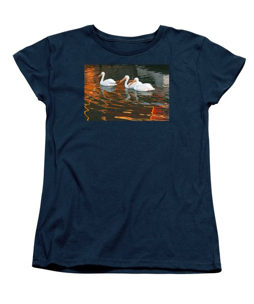 Women's T-Shirt (Standard Cut) featuring the photograph Heading Home by Roger Rockefeller
