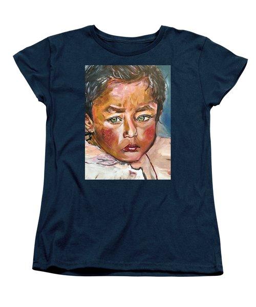 Heal The World Women's T-Shirt (Standard Cut) by Belinda Low