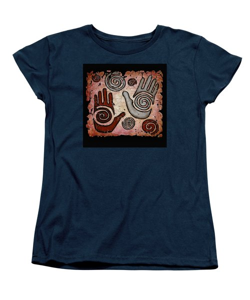 Healing Hands Fresco Women's T-Shirt (Standard Cut)