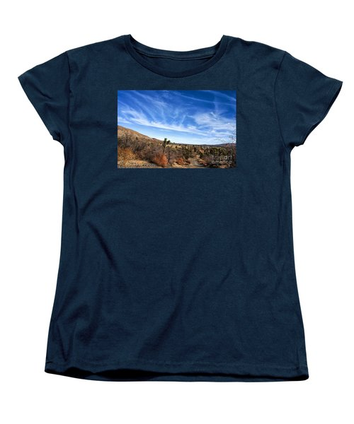 Heaven Women's T-Shirt (Standard Cut) by Angela J Wright