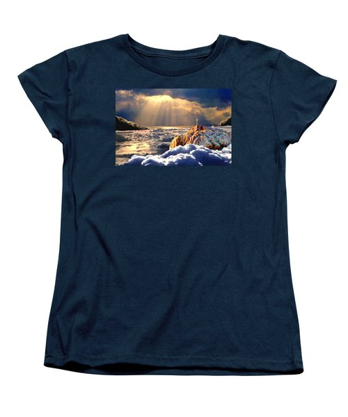Heavenly Ascension Women's T-Shirt (Standard Cut) by Ron Chambers