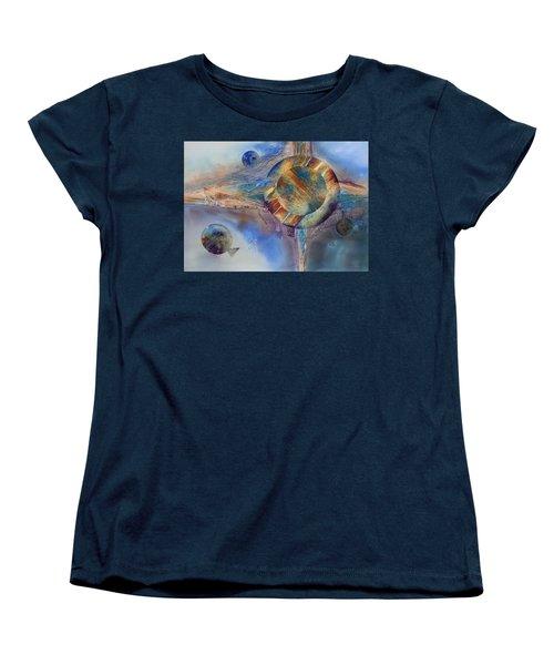Heavens Gate Women's T-Shirt (Standard Cut) by Tara Moorman