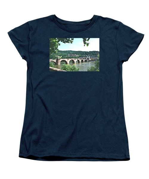 Heidelberg Schloss Overlooking The Neckar Women's T-Shirt (Standard Cut)