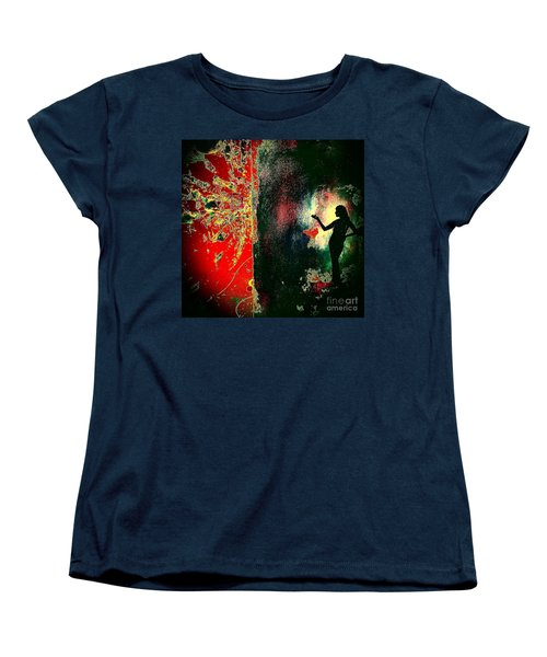 Her Power To Create Women's T-Shirt (Standard Cut) by Jacqueline McReynolds