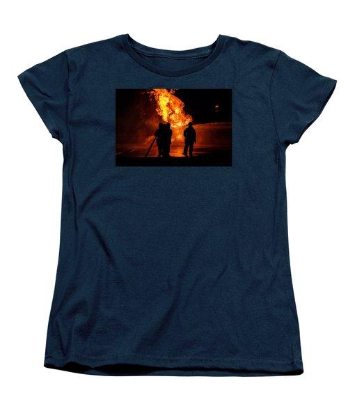 Hero's Women's T-Shirt (Standard Cut) by Sennie Pierson