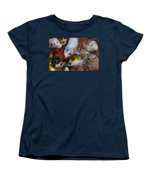 Women's T-Shirt (Standard Cut) featuring the photograph Hey Whats Happening by Wilma  Birdwell